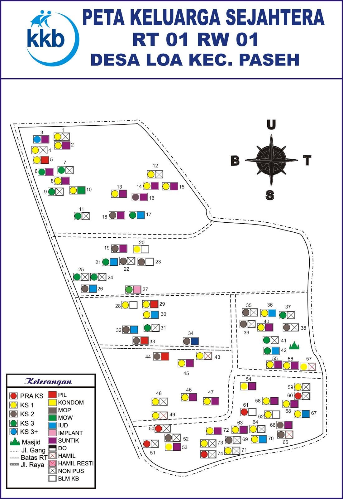 Pembuatan Peta Keluarga di Kecamatan Paseh Kabupaten ...