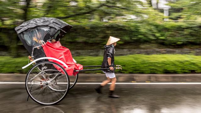 Rickshaw en Arashiyama :: Canon EOS5D MkIII | ISO100 | Canon 24-105@32mm | f/4.5 | 1/20s