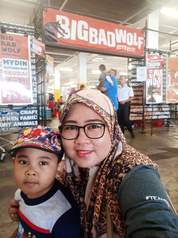 Big Bad Wolf 2019 Mydin Mall Mutiara Rini, Johor Bahru
