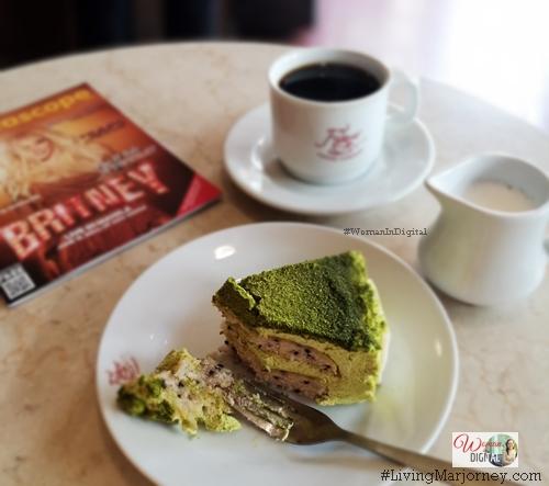 A Slice of Kyoto Kotobuki Matcha Cake