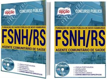 Apostila FSNH 2017 - Agente Comunitário de Saúde