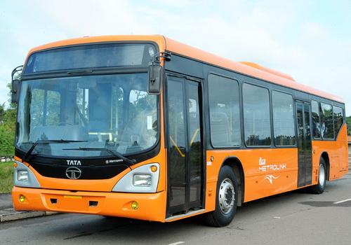 Tinuku Tata Motors unveiled Tata LPO 1613 CNG Bio-Methane bus