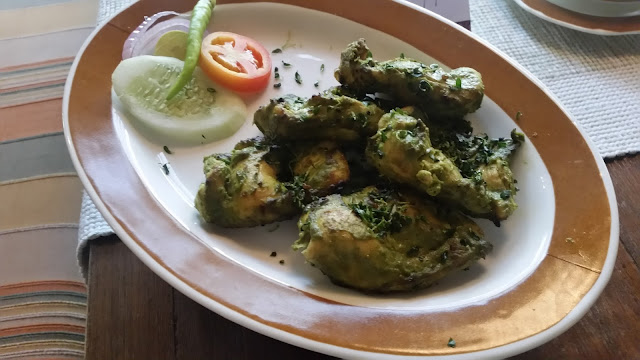 Methi Murgh ka Kebab