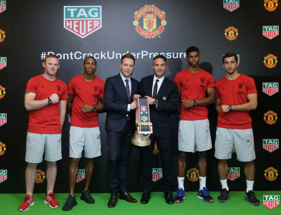 TAG Heuer and Manchester United