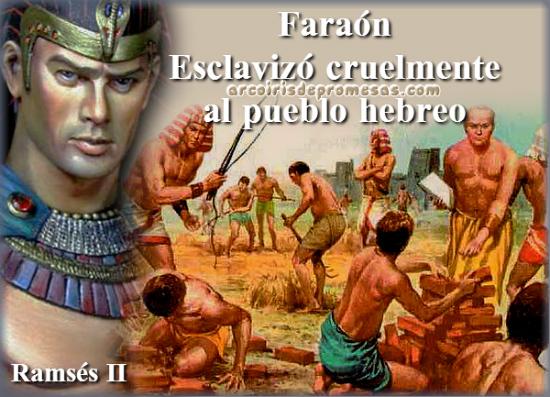 hombres crueles de la biblia faraon
