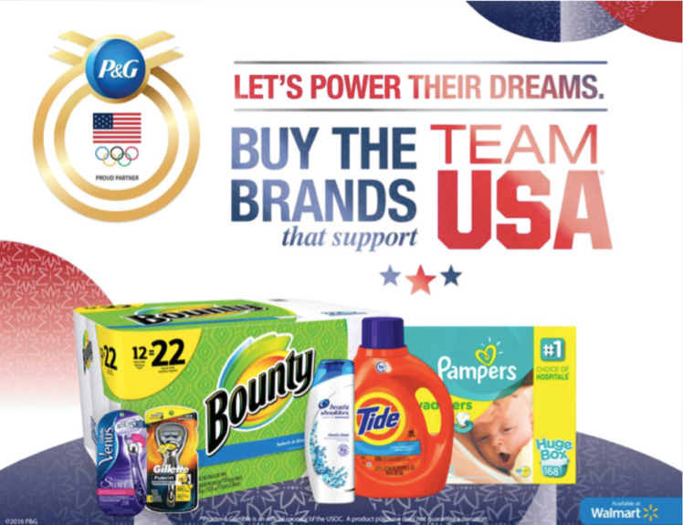 brands supporting the olympic games