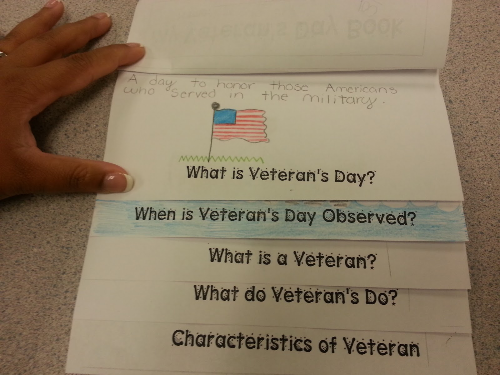 The Teaching Oasis Veterans Day