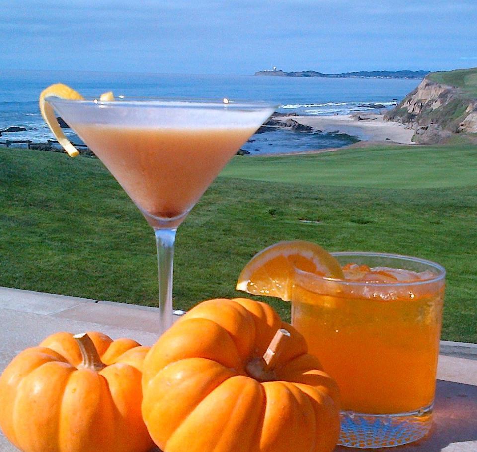 Everything Coastal: Pumpkin Martinis