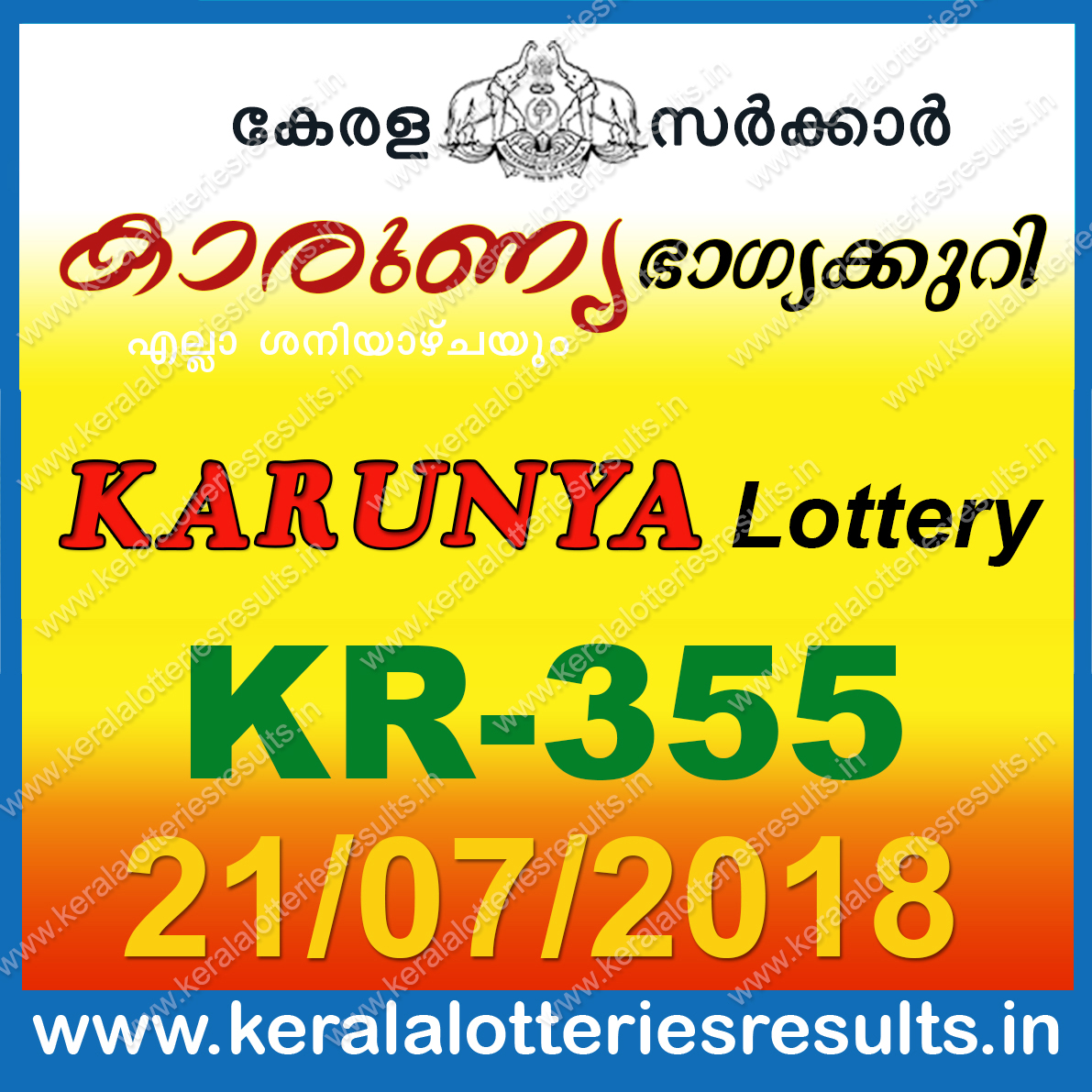Lottery results for today