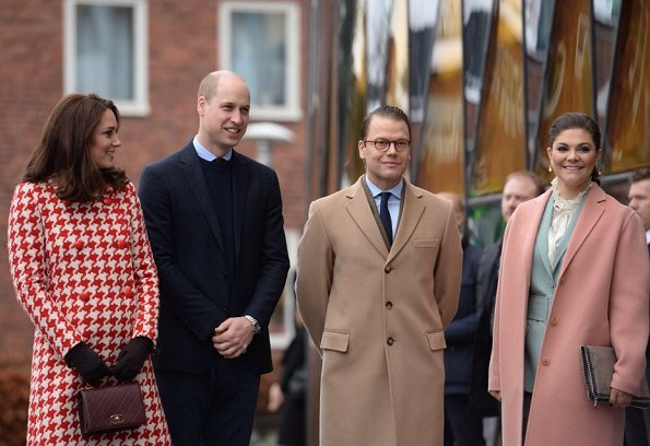 Duchess Catherine 39 S And Prince William 39 S Visit To Sweden