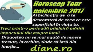 Horoscop noiembrie 2017 Taur