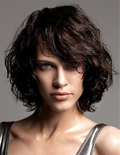 Black Layered Curly Hairstyles