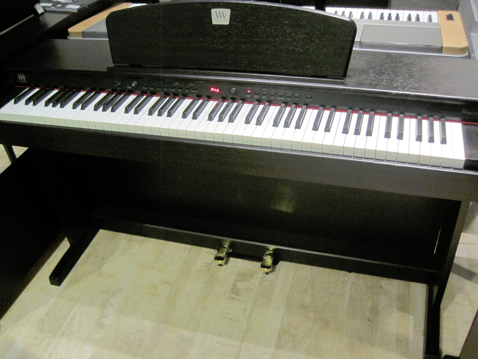 Yamaha Digital Piano With Pedals