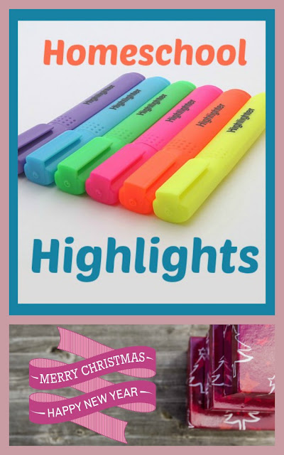 Homeschool Highlights Holiday Edition - Christmas Break on Homeschool Coffee Break @ kympossibleblog.blogspot.com