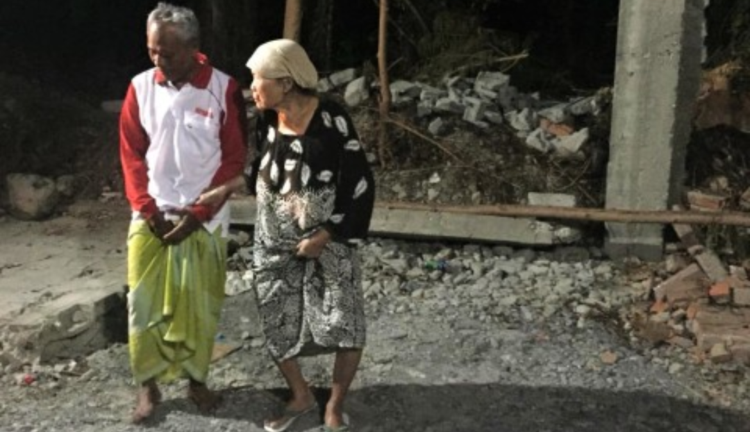 Innalillahi, Gempa Terjadi Lagi di Palu Orang-orang Berhamburan Keluar