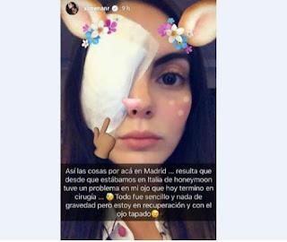 Ximena Navarrete ojos