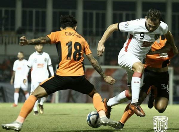 Chiangrai United Singkirkan Bali United Skor 2-1