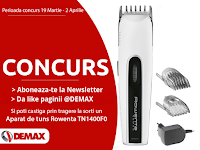 Castiga un aparat de tuns Rowenta - concurs - castiga.net