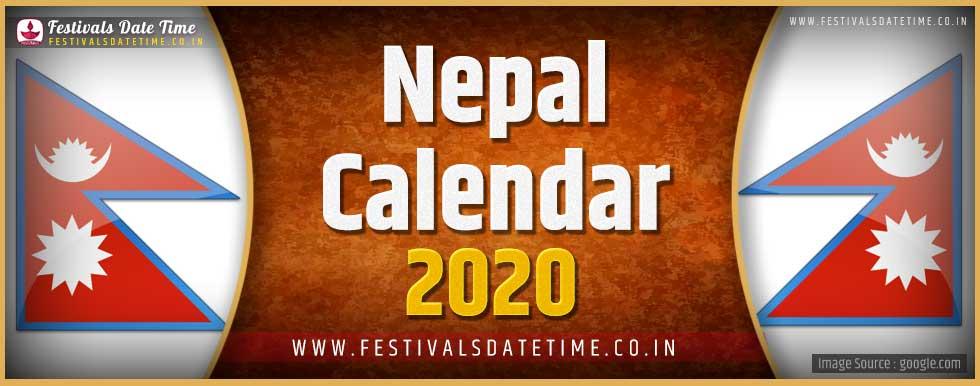 2020 Nepali Festivals Calendar, 2020 Nepal Holidays Calendar