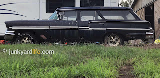 1958 Chevy wagons weigh 3,750 lbs. on average.