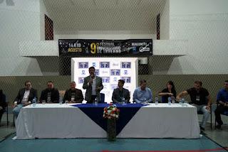 Reitor da UFCG divulga a programação do IX Festival Universitário de Inverno de Cuité