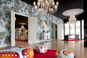 Living Rooms with Mosaic Glass Tiles  Bisazza 8