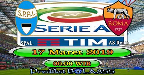 Prediksi Bola855 Spal vs AS Roma 17 Maret 2019