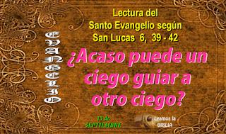 Resultado de imagen para Lucas 6,39-42