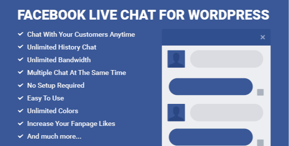 Free Facebook Live Chat For Wordpress, Modern Marketing Solution