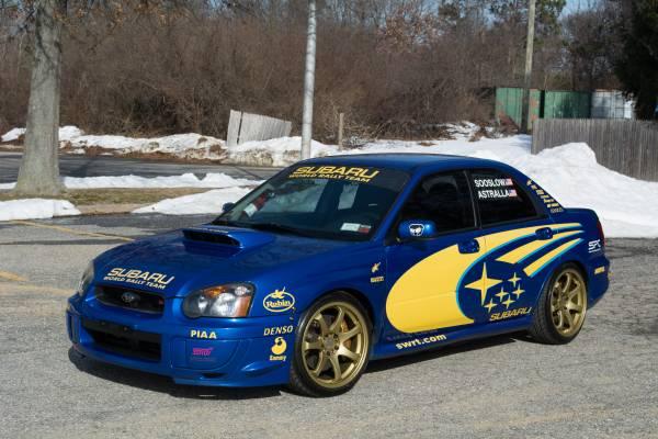 2005 Subaru WRX Sti in World Rally Blue | Auto Restorationice