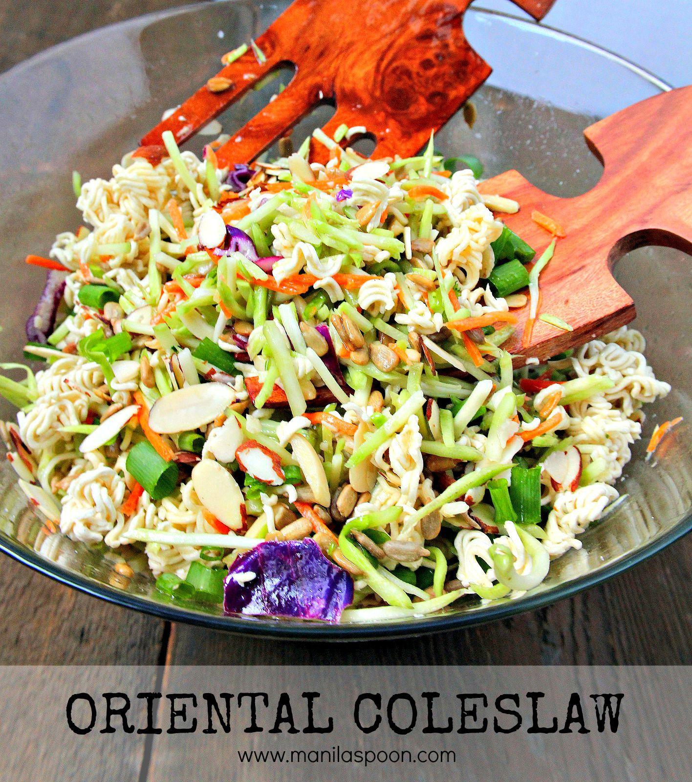 Oriental (Asian) Coleslaw | Manila Spoon