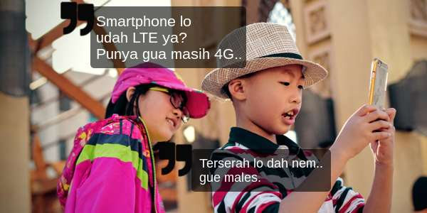 Perbedaan 3G, 4G, dan LTE