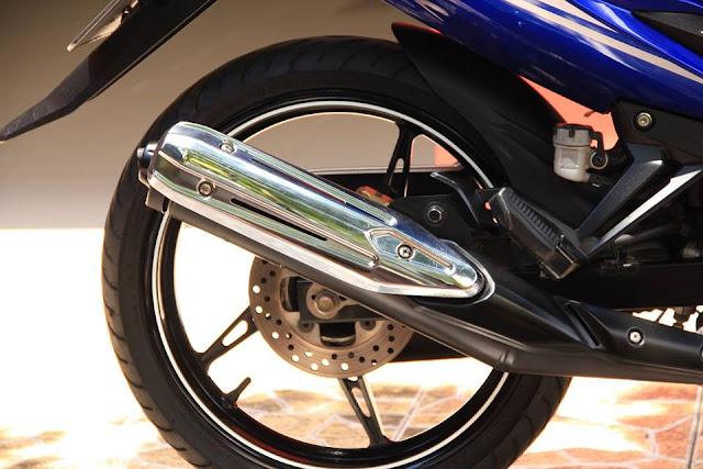 Sơn xe Exciter 2013 xanh GP cực đẹp