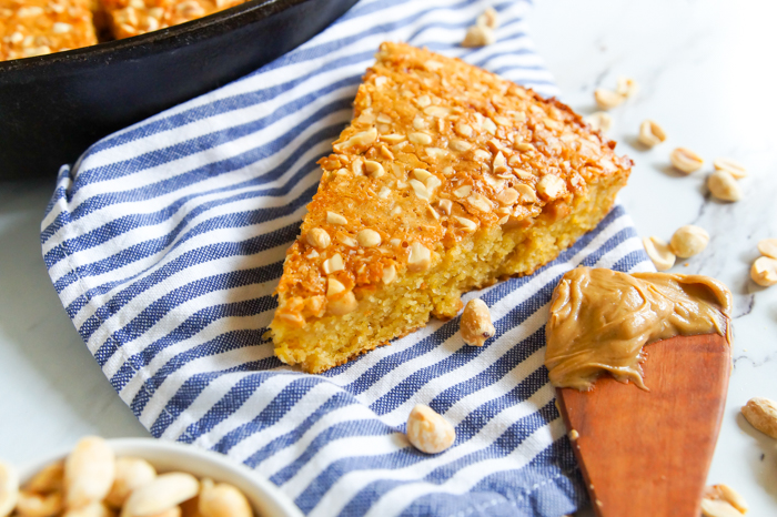Peanut Butter Cornbread from The Last O.G. Cookbook