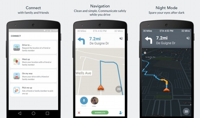 Scout GPS Navigation Screenshots