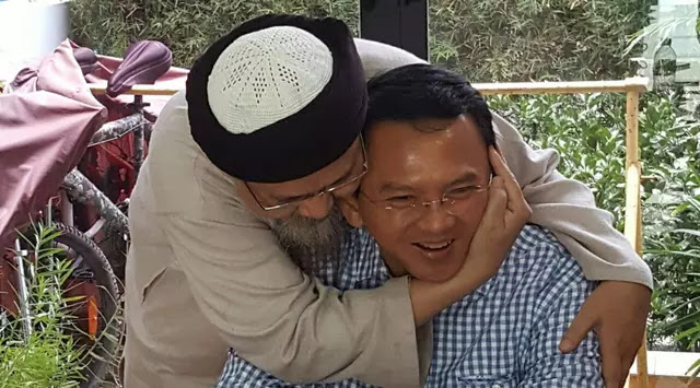 Kakak Angkat Bapak Basuki Tjahaja Muslim Datangi Mabes Polri