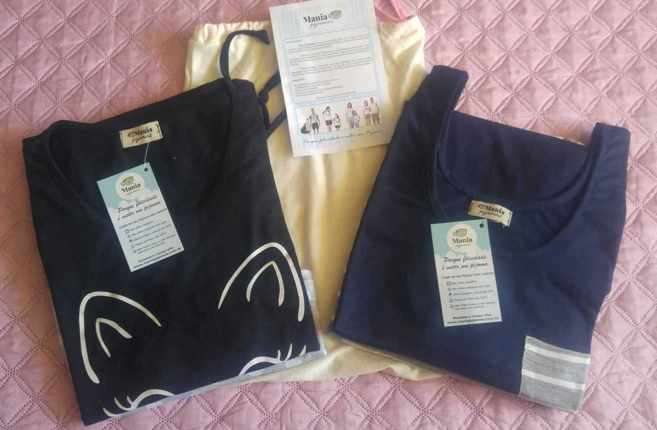 Mania Pijamas loja online, onde os pijamas são feitos com amor!