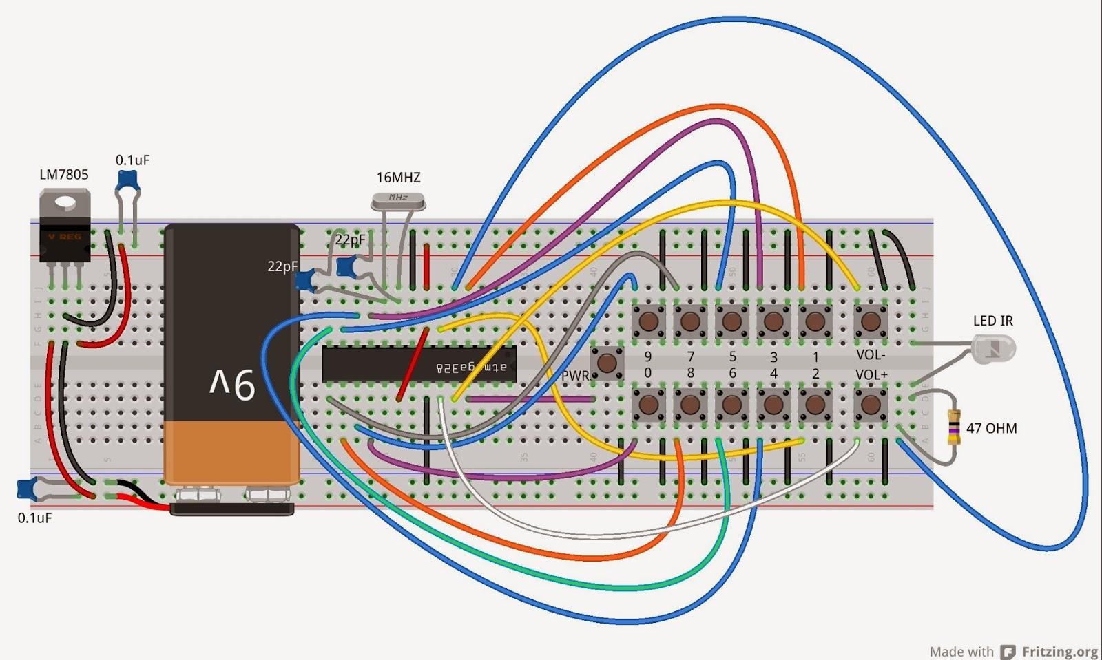 Circuito Arduino : Daniele alberti arduino s costruisci un telecomando tv con