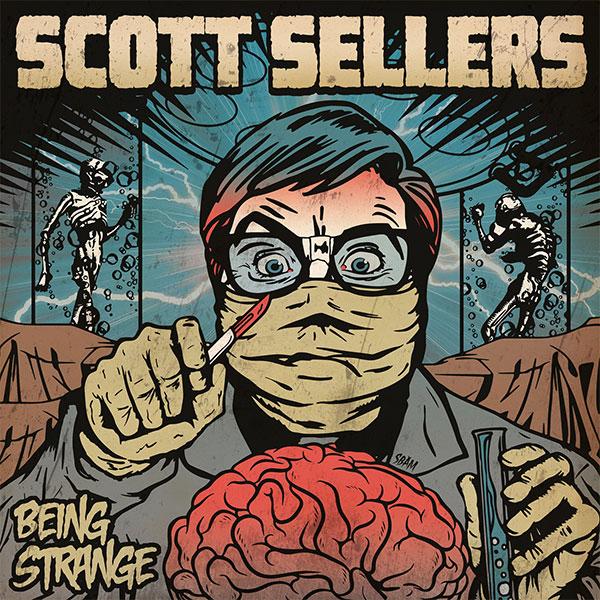 "Scott Sellers (Rufio) stream new songs off upcoming album ""Being Strange"""