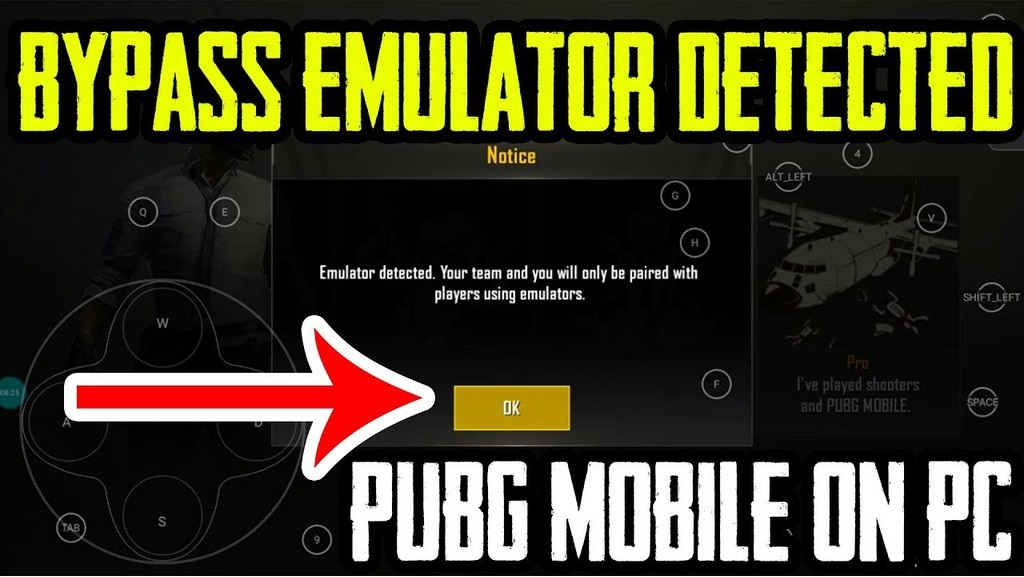 Bypass Emulator Detected Pubg Mobile