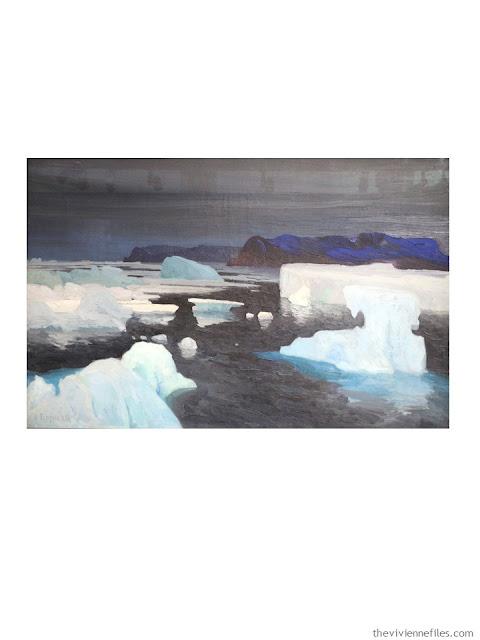Les Glaciers, mer de Kara by Alexandre Sergejewitsch Borisoff