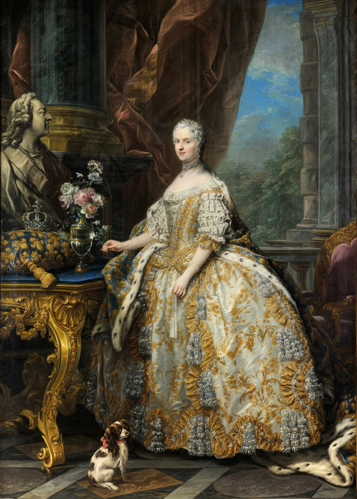 Paintings by Carle van Loo (1705-1765)