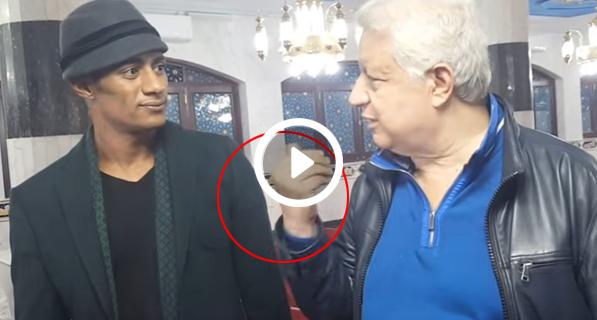 شاهدوا | ماذا فعل محمد رمضان بعد مقابلة  مرتضى منصور بعد إهانته له !