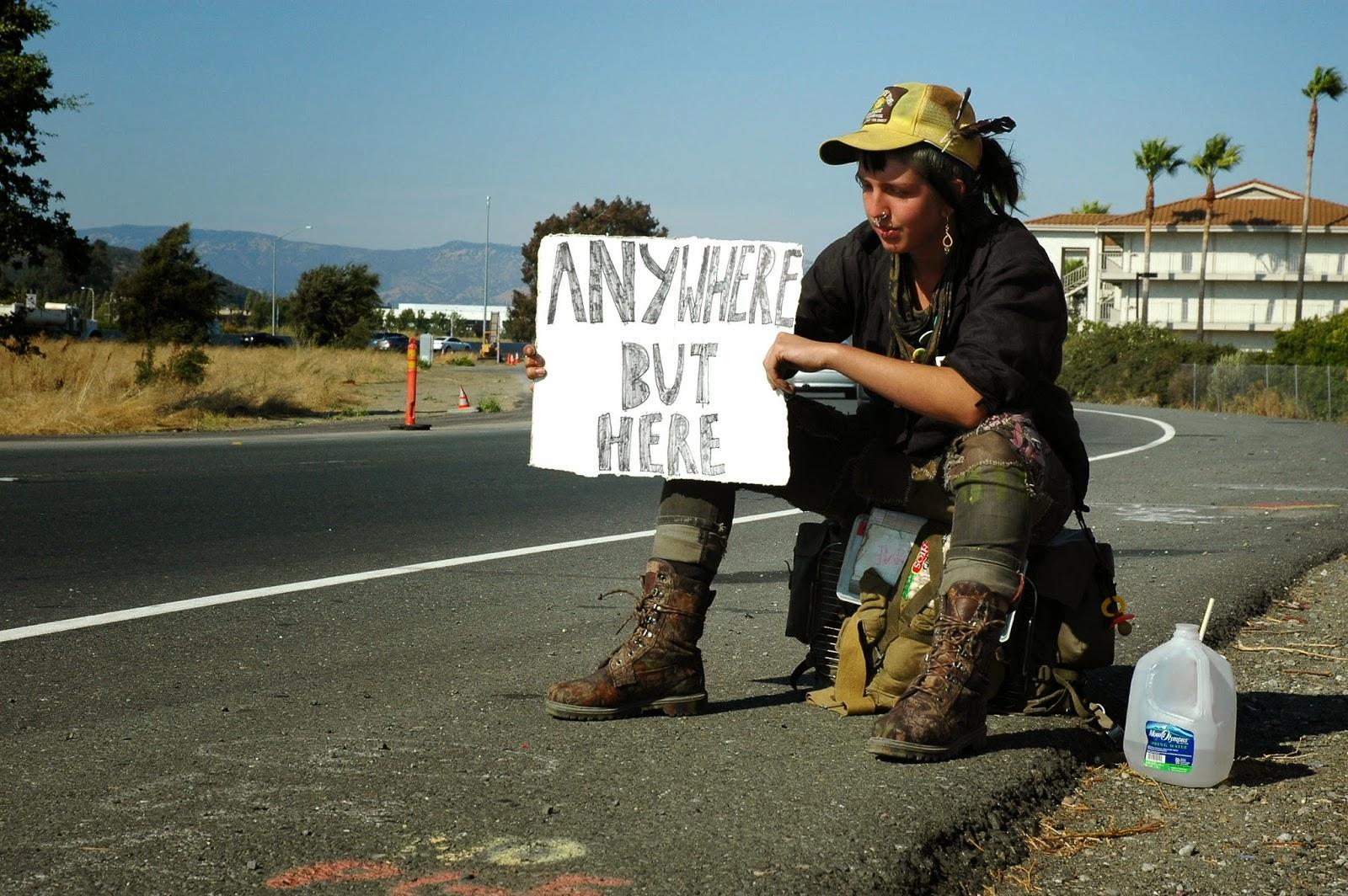 Yorkshire Pudding: Hitchhiking