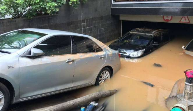 Penyebab banjir di kawasan Kemang