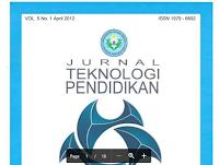 Contoh Jurnal Penelitian Teknologi Pendidikan Pdf Download – Pemanfaatan Weblog Sebagai Media Pembelajaran Untuk Meningkatkan Hasil Belajar Bahasa Inggris