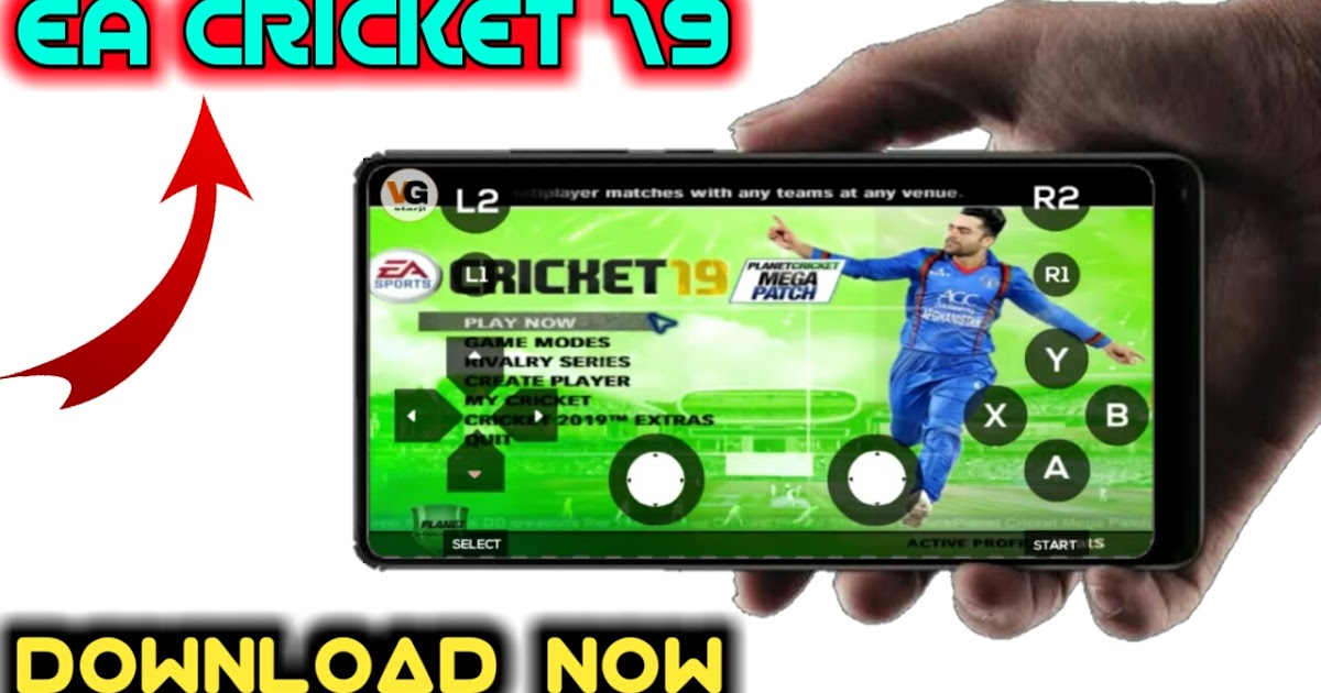 How To Download Ea Cricket 19 On Android Vky Gaming Starji