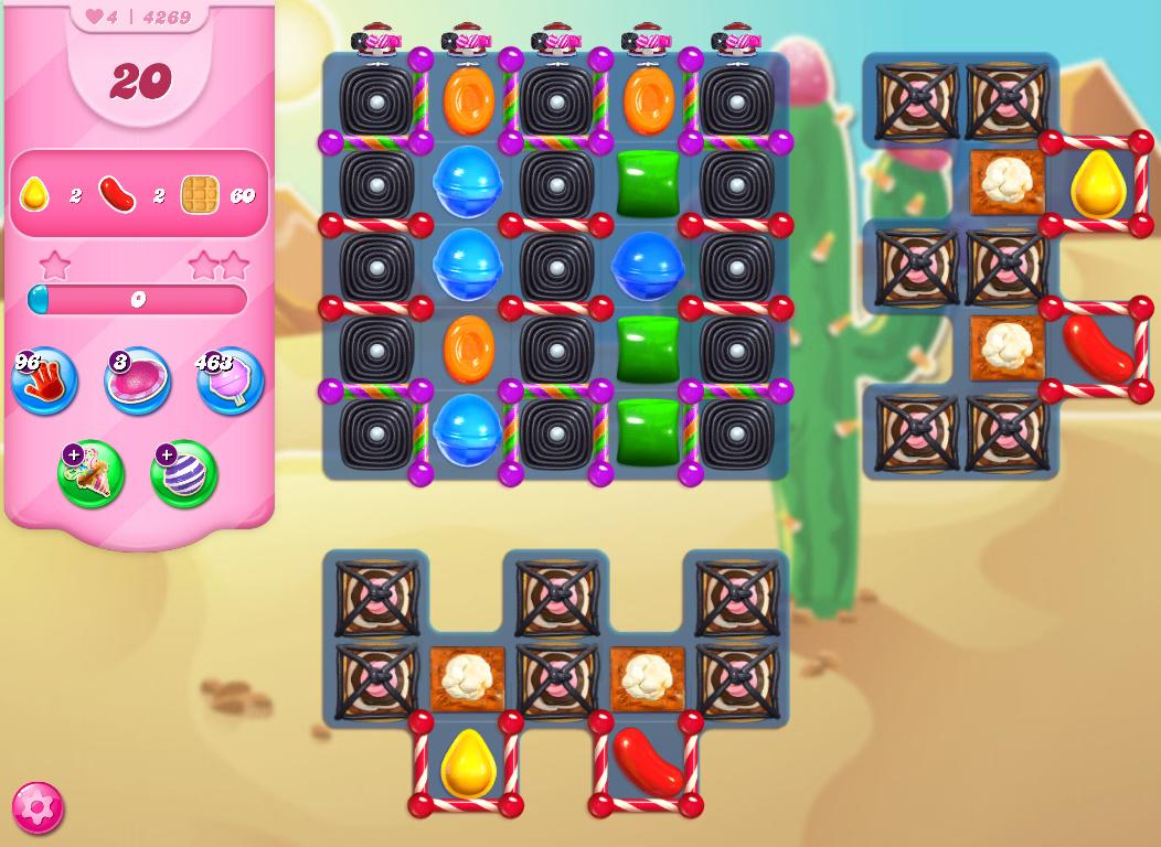 Candy Crush Saga level 4269