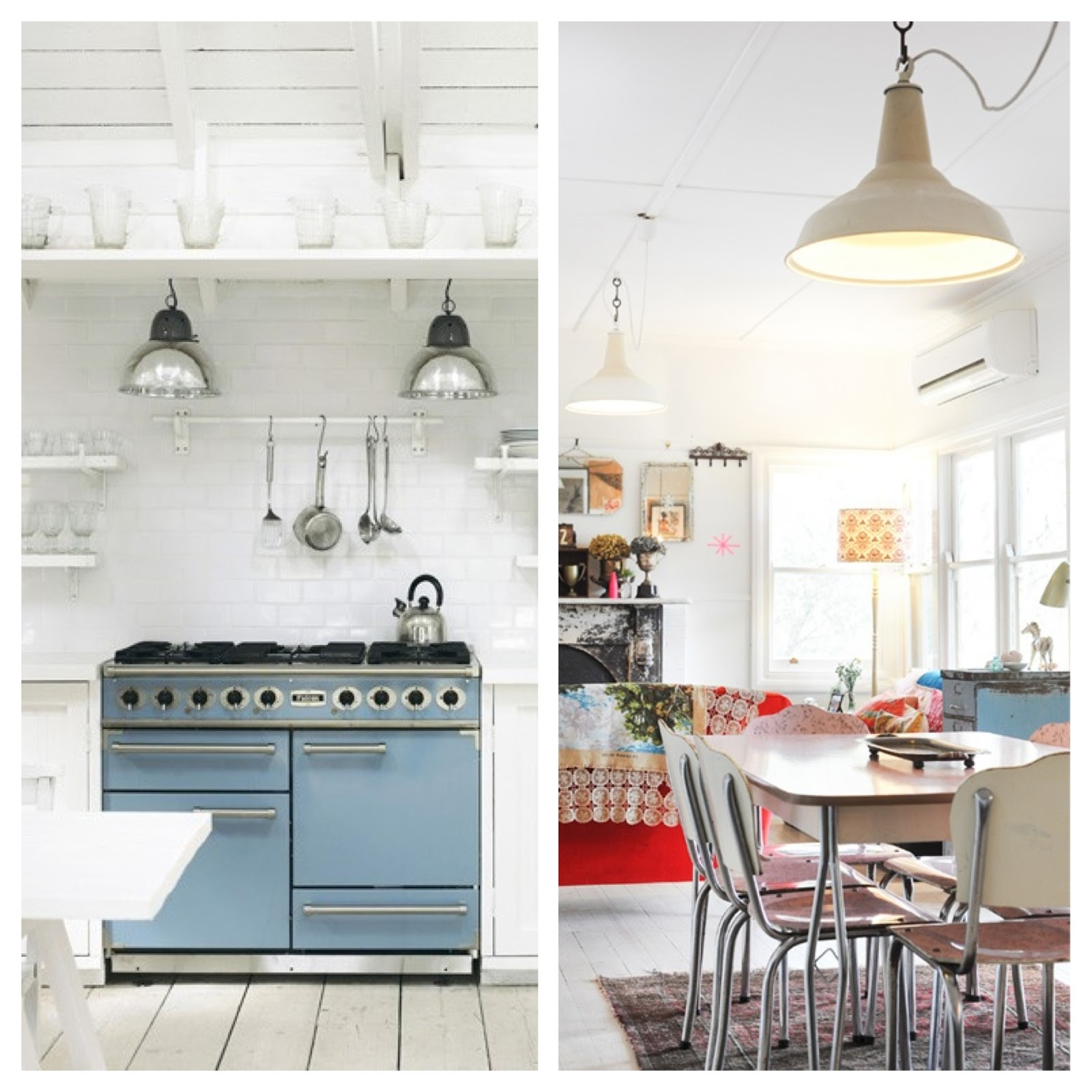 Industrial Chic Kitchen Lighting. love the look of. creating an ...