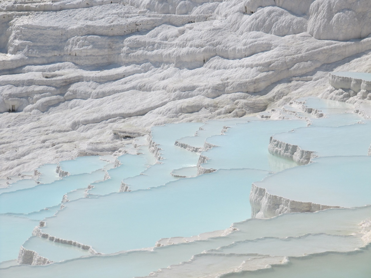 The natural wonder of Pamukkale, Turkey